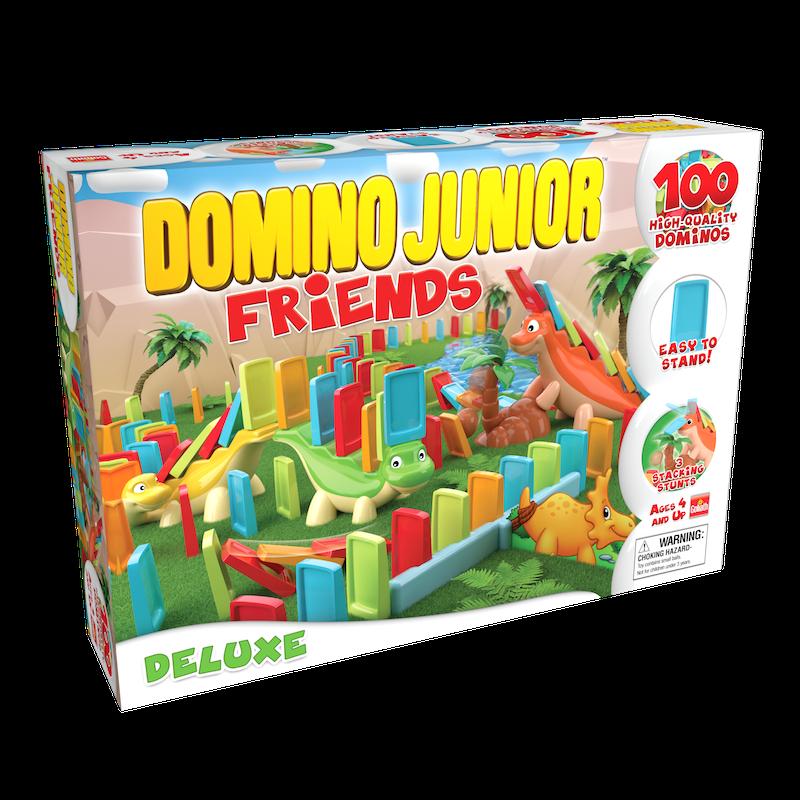 """Domino Junior Friends """"Deluxe"""" — Goliath Games :Goliath Games"""